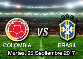 <center>Colombia vs Brasil</center>