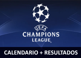 Calendario + Resultado Cuartos de final UEFA Champions League
