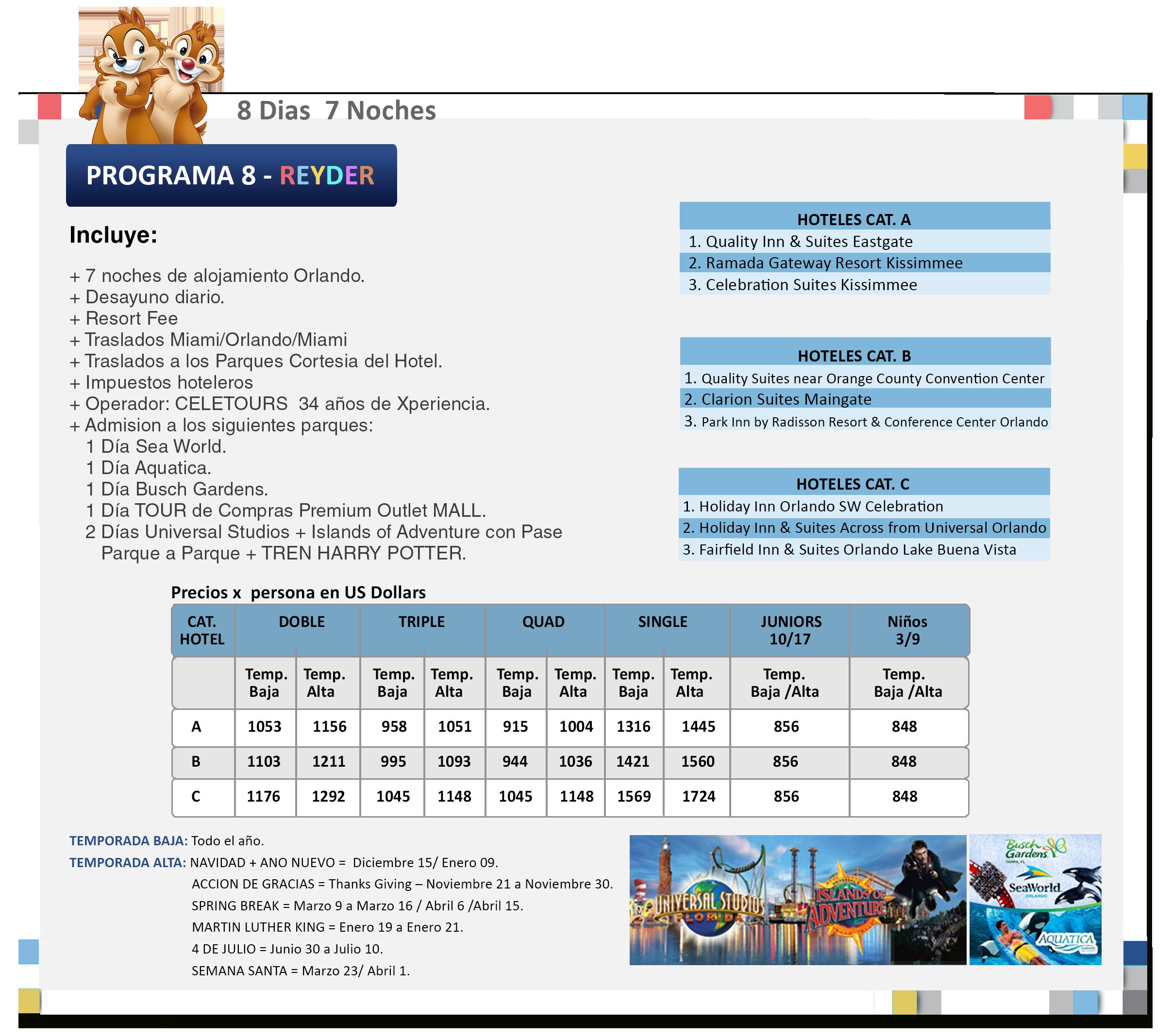 Programa 8Reyder